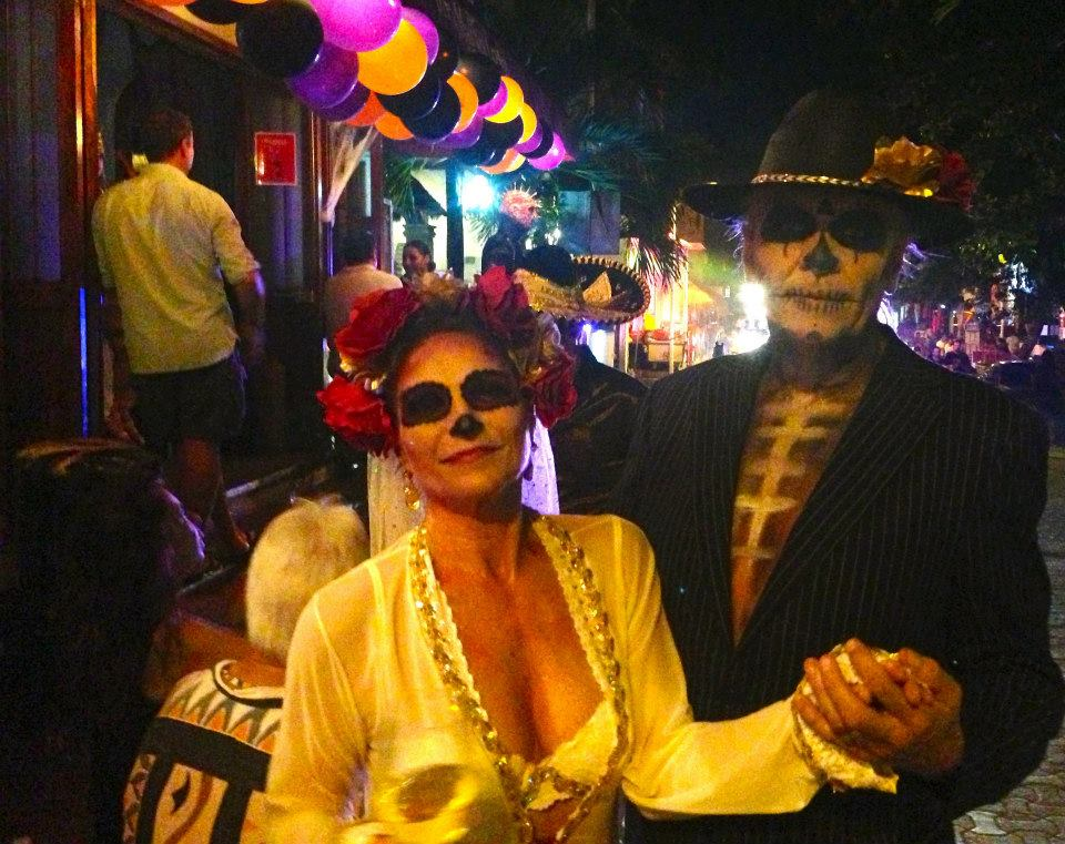 2013  The famous Mexican dead couple.